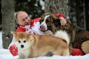 Путин - альфа-самец